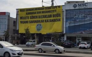 Yaşam savunucularından Cengiz'e dev mesaj YaşamıSavun'anlar kazanacak!
