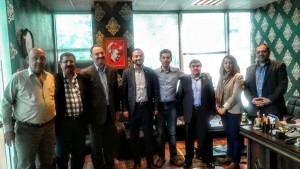 Sinan Akçiçek'ten Birlik Ziyaretleri