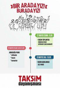 Taksim Dayanışması Gezi Direnişi'nin 3. yılı programını açıkladı (3)